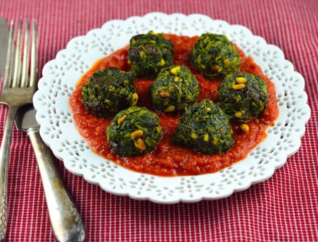 potassium rich spinach meatballs
