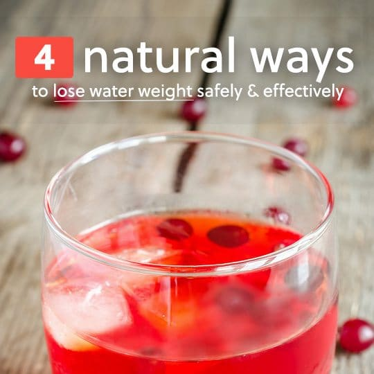 Use these natural methods to lose water weight safely and effectively…
