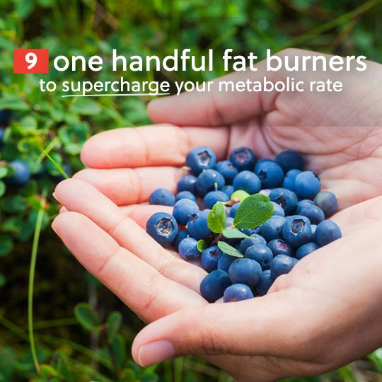 Eat one handful of these fat burning superfoods to boost your metabolic rate and lose weight…