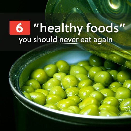 """These so called """"healthy foods"""" are actually horrible for you. Try to avoid these 6 surprisingly unhealthy foods at all costs."""
