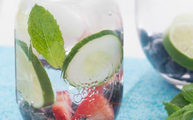 refreshing fruit water