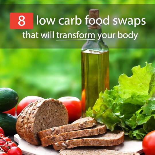 Get a leaner body and lose weight by making these simple low carb swaps in your diet.