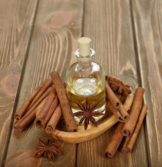 Cinnamon antibacterial oil pulling
