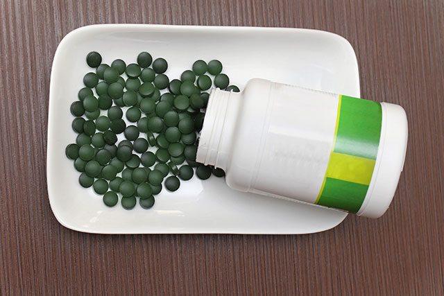 Spirulina-pills