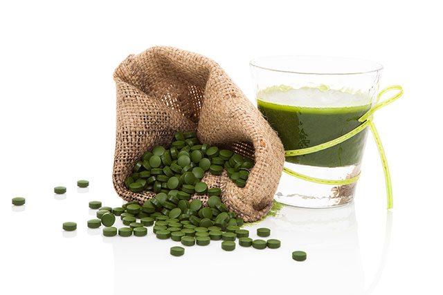 Spirulina-supplements