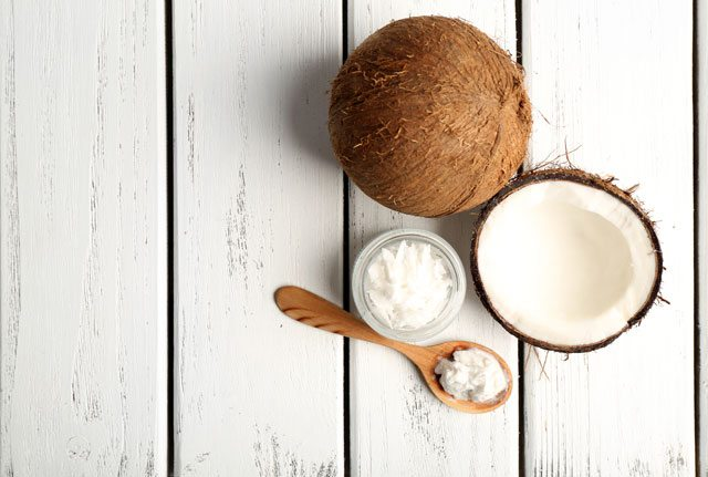 coconut oil antibacterial