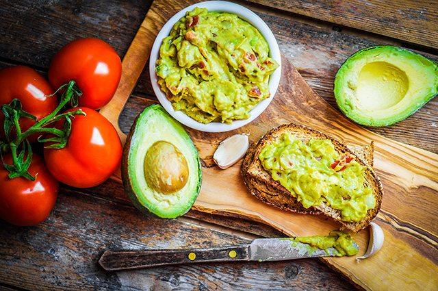 Avocados for good fat