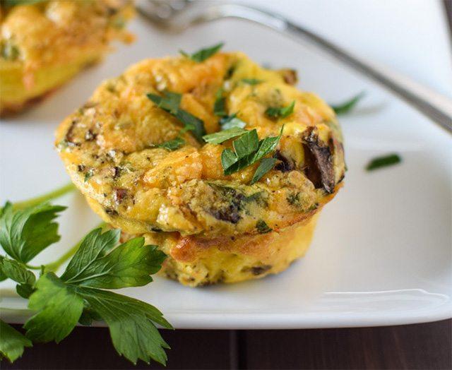 Quick Breakfast Egg Muffins