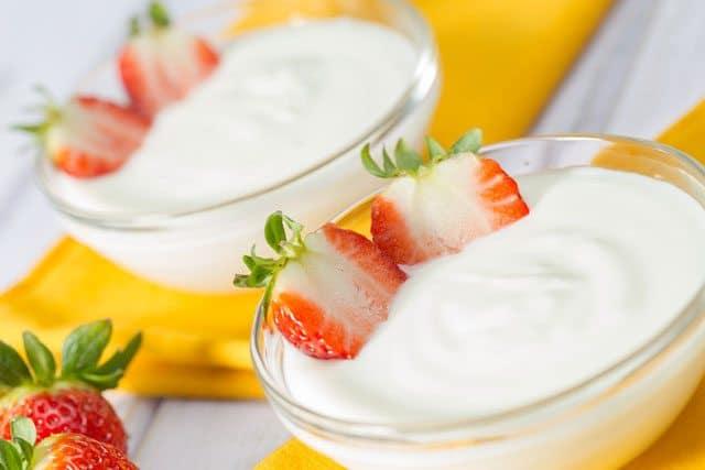Kefir yogurt