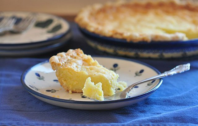 buttermilk pie with kefir