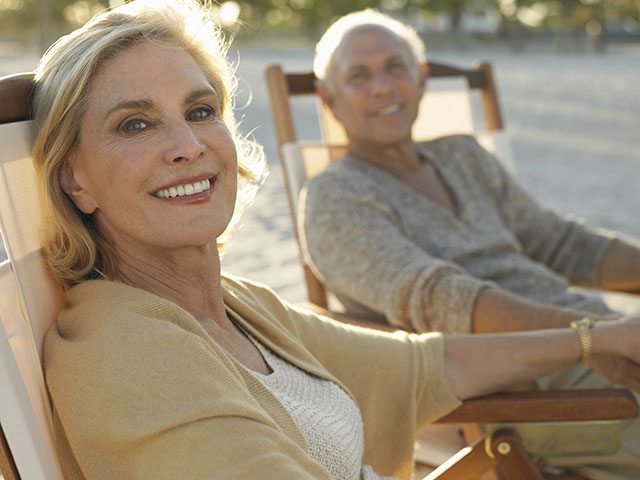 Happy at menopause