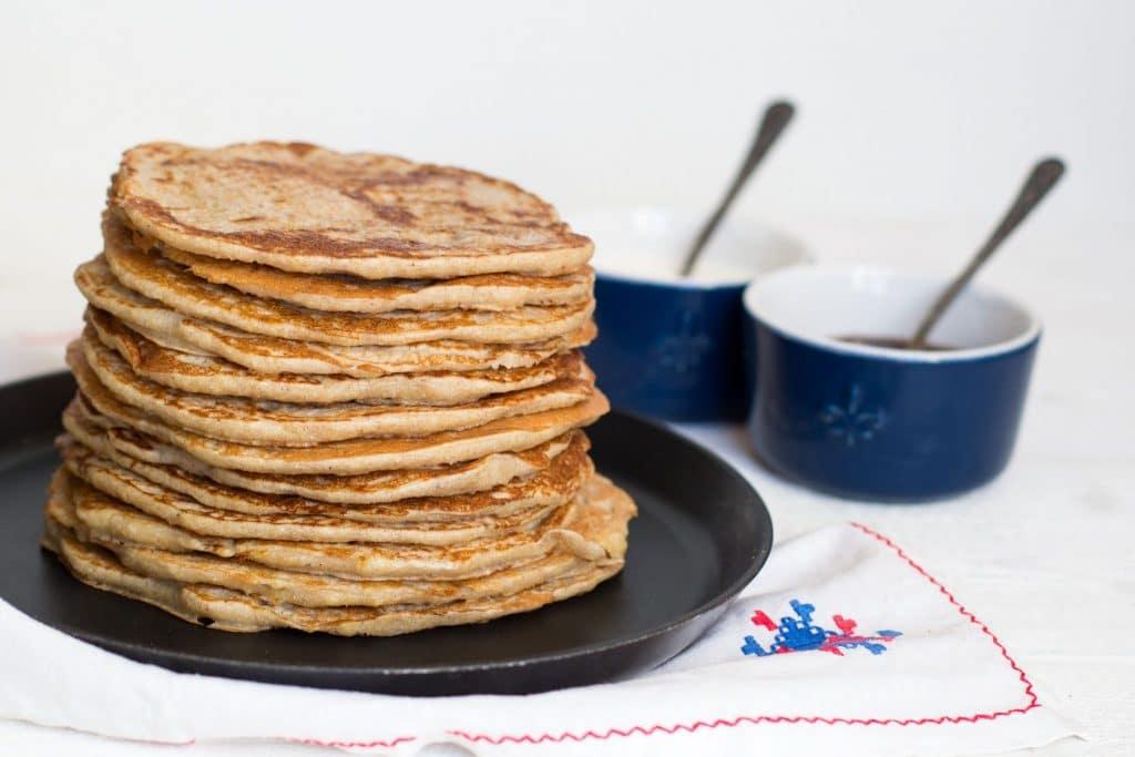 Wholewheat pancakes