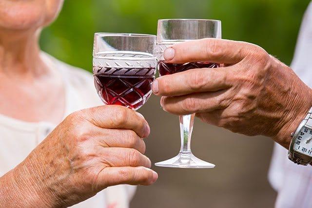 Wine to live longer