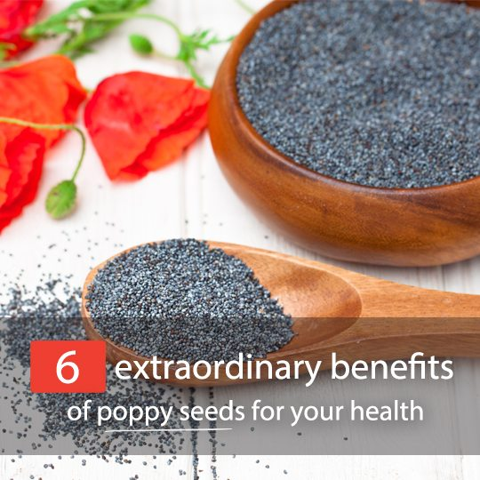 Everyone knows about how healthy chia seeds are, but what about poppy seeds?