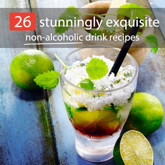 26 stunningly exquisite non alcoholic drink recipes for Drink recipes without alcohol