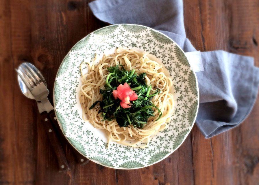 Shungiku Tomato Pasta