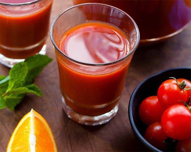 Tomato orange juice