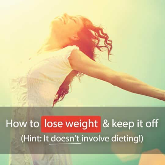 Losing weight isn't rocket science. Find out how a healthy lifestyle change can help you achieve your ideal weight and maintain it!