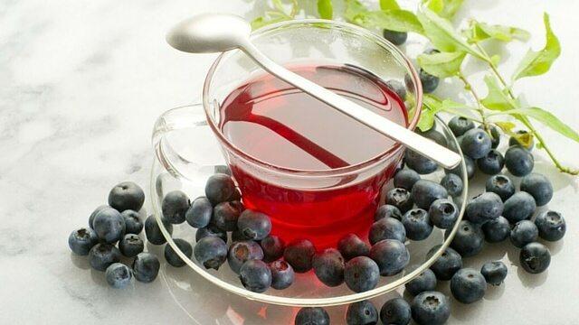 Slimming tea - bilberry