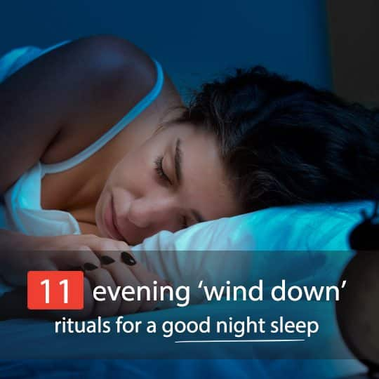 Struggling with insomnia or restless nights? Try these amazing 'wind down' rituals for a peaceful slumber...