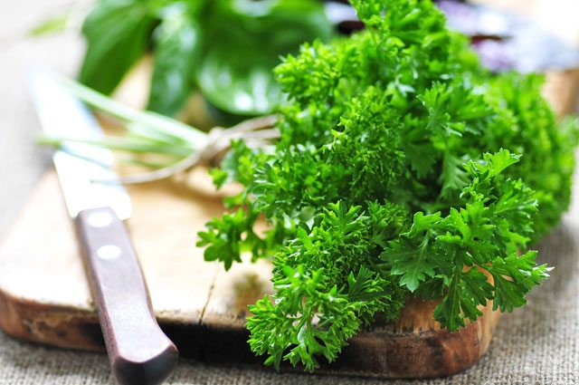 parsley gout
