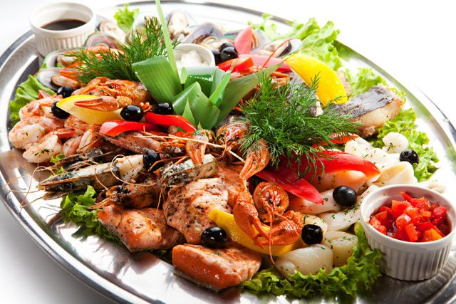 seafood gout
