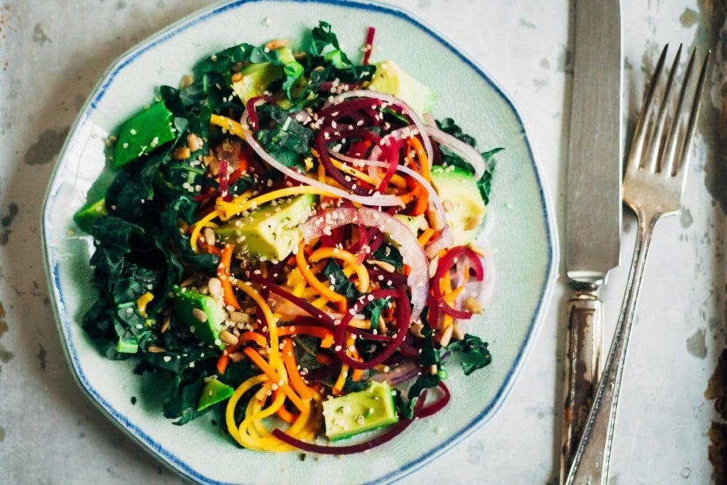 chakra salad