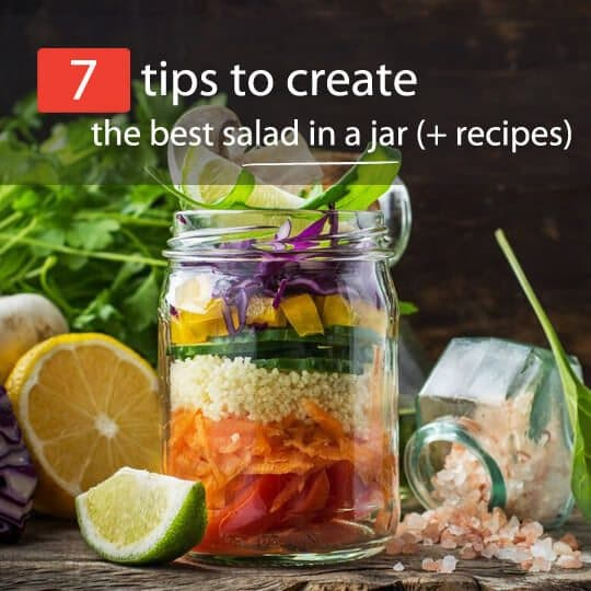 salad in a jar feature
