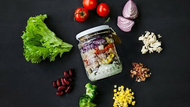 salad in a jar recipes