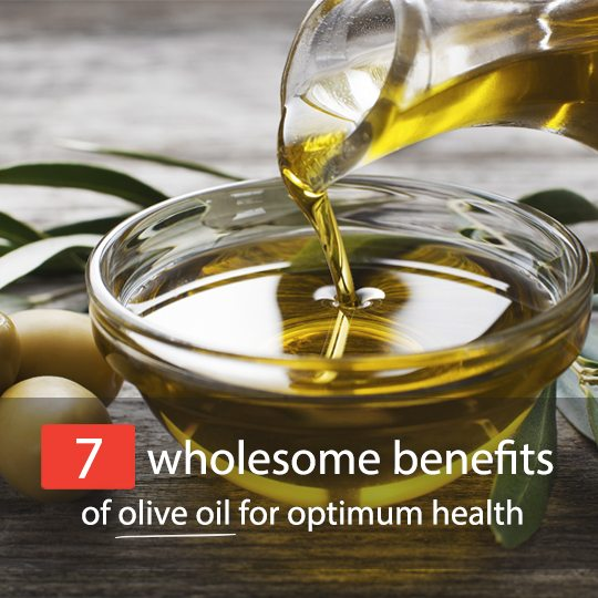 Check out these surprising health benefits of olive oil...