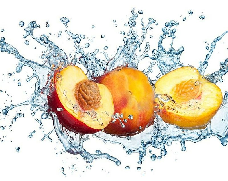 hydrating foods peaches