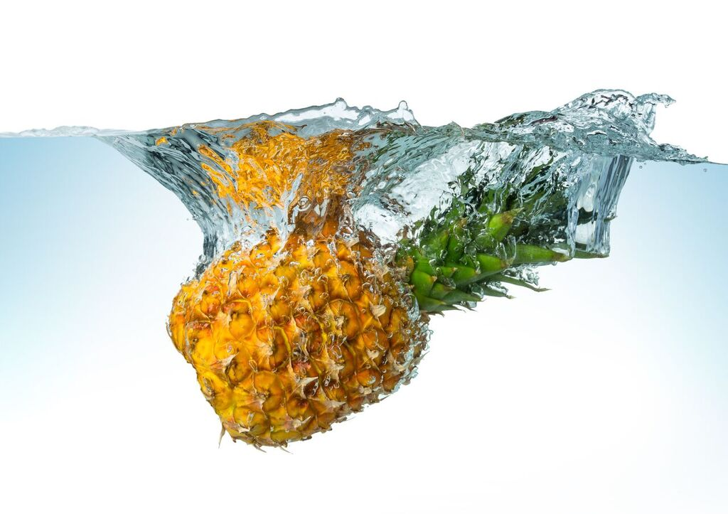 hydrating foods - pineapple