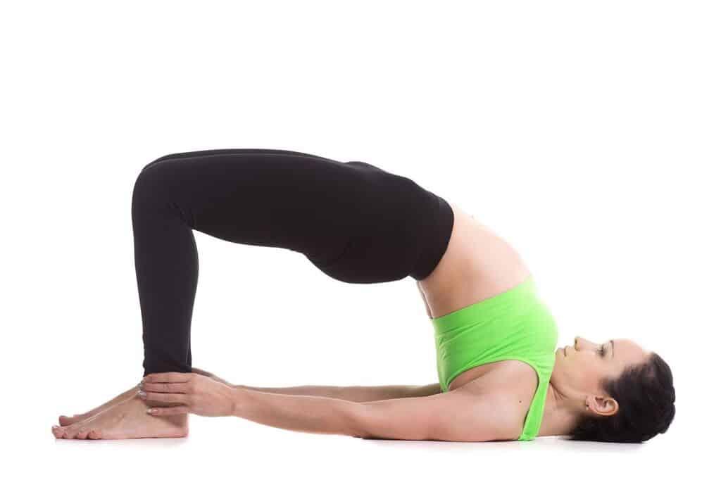 yoga for digestion bridge