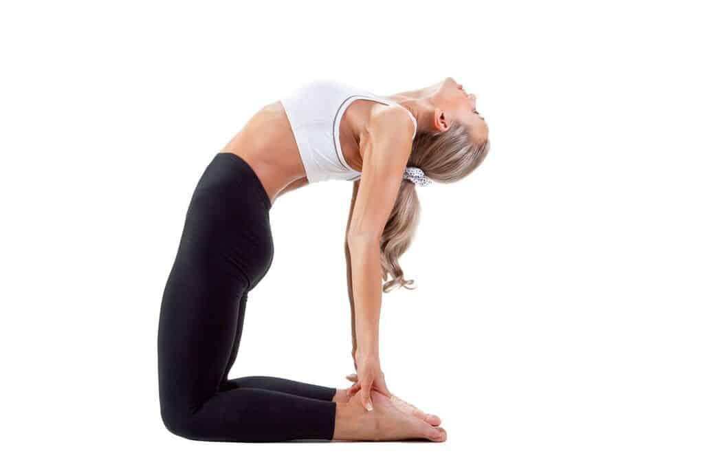 yoga for digestion camel