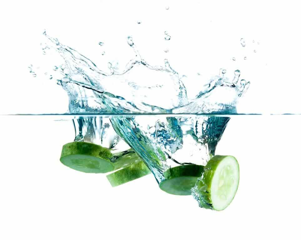 Hydrating foods - cucumbers