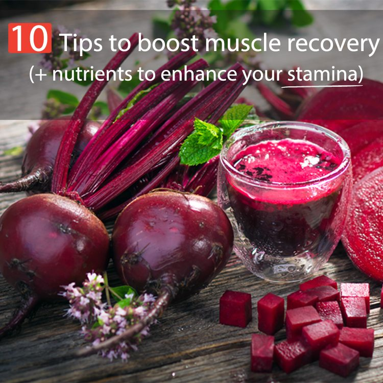 Discover foods and nutrients that will speed up muscle recovery after a workout.