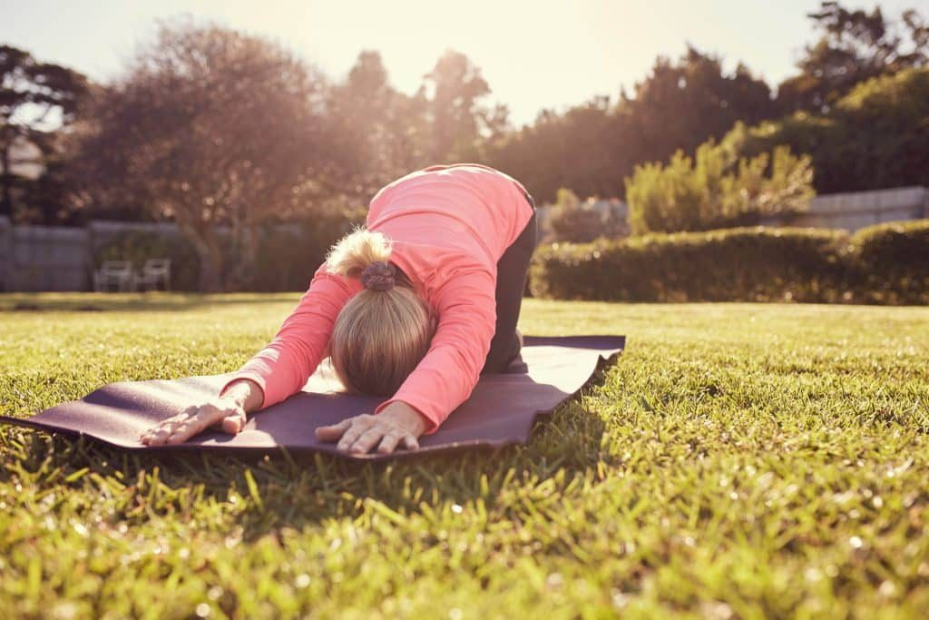 restorative yoga for stress
