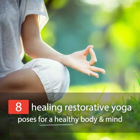 Find out why restorative yoga is taking the world by storm, plus learn some easy restorative yoga poses!