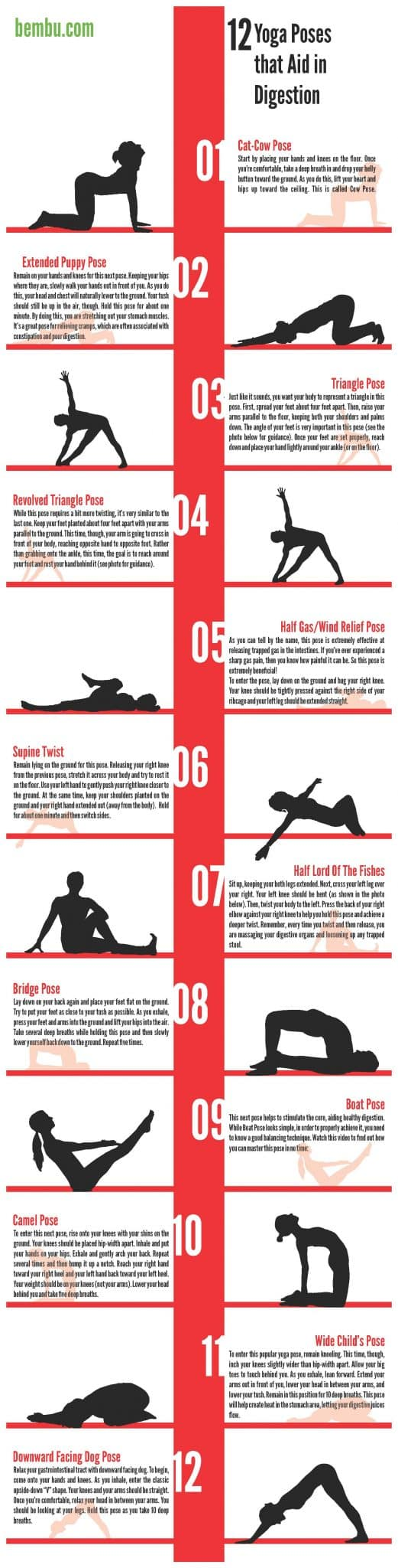 yoga poses to help digestion