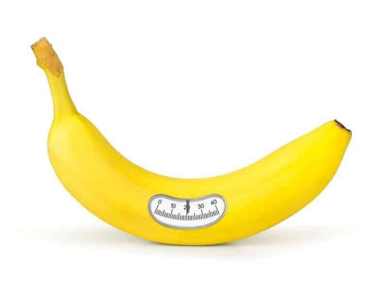 health benefits of bananas weight