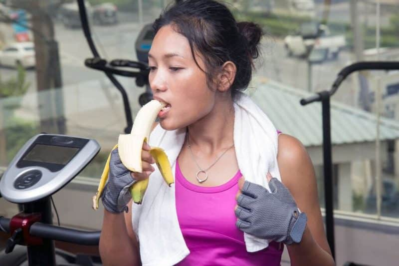health benefits of bananas workout