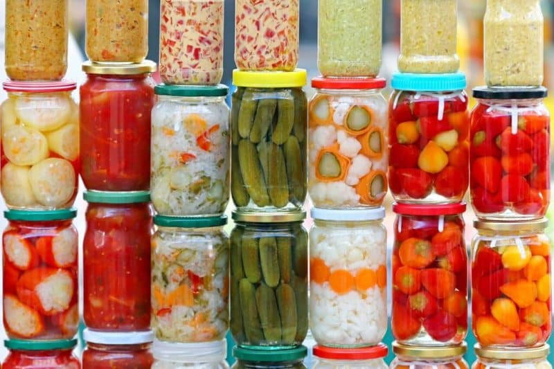 stress relieving foods fermented