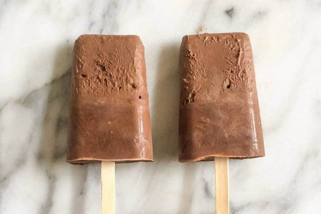 Avocado fudgesicles
