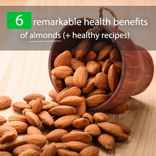 Check out these 6 amazing benefits of almonds for a happy, healthy body!