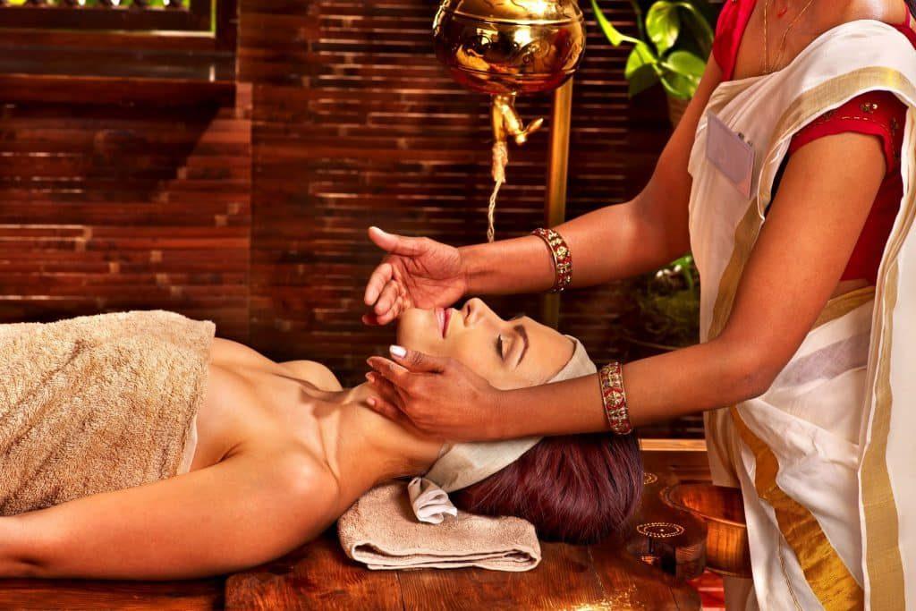 Ayurvedic oil massage