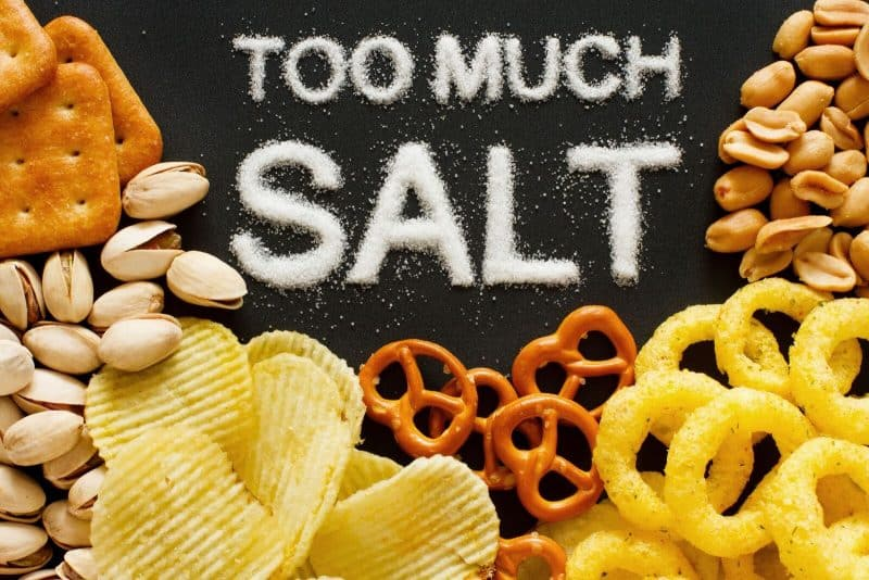 salt in processed foods