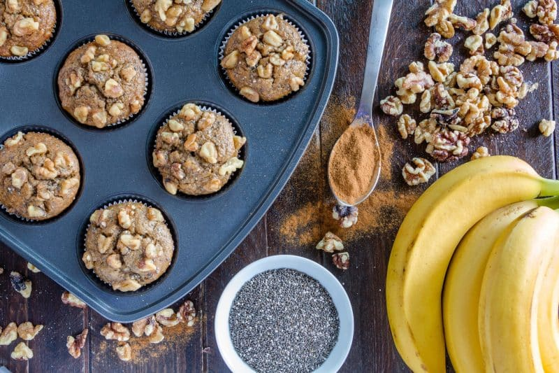 chia seeds in baked goods