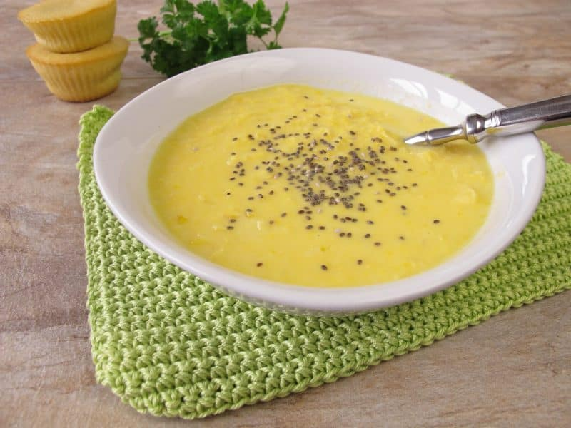 chia seeds thicken soups
