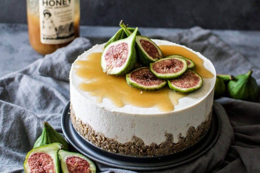 coconut honey cheesecake