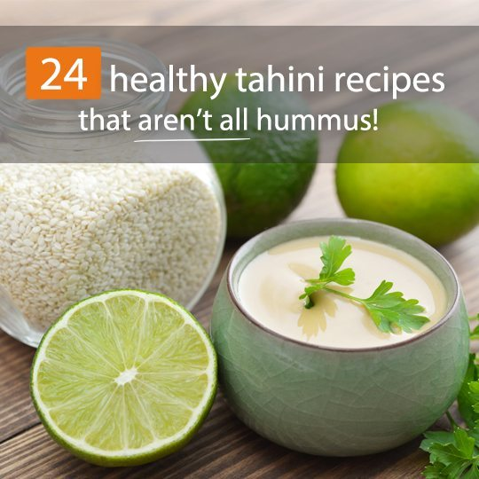 Think tahini is just an ingredient for hummus? Think again! Here are some delicious and healthy sweet and savory tahini recipes...